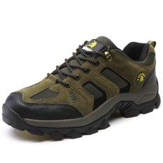Wanita Rekreasi Outdoor Climbing Sepatu Tahan Air Hiking Shoes Cahaya Antiskid Sepatu sneakers Sepatu Lari-A 3-Intl
