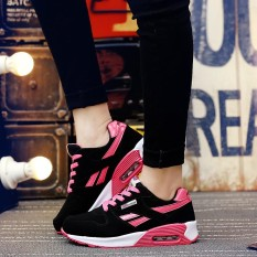 Diskon Women Outdoor Sports Sneakers Shoes Female Sneakers Breathable Outdoor Air Cushion Running Sports Shoes Intl Akhir Tahun
