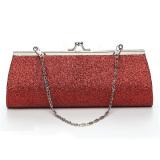 Beli Panjang Bahu Kecil Wanita Bedak Kosmetik Clutch Bag Tas Jinjing Merah Intl Nyicil