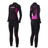 Promo Wanita Profesional Elastis Tinggi Patchwork 3Mm Neoprene Hangat Pakaian Selam Wetsuit 7084 Intl Oem Terbaru
