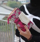 Beli Women Pu Leather Wallet Design Phone Purse Long Style Rose Intl Online Tiongkok