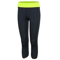 Arsy Sport Celana Training Model Lis 3 Hitam Biru pon Source Wanita Cepat .
