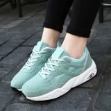 Review Wanita Running Shoes Cahaya Mesh Bernapas Sneaker Empuk Sport Hijau Intl