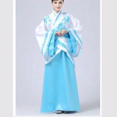 Wanita Ruqun Hanfu Setelan Cosplay Lengan Panjang Gaun Cina Wangsa Tang Costum Hanfu-Internasional