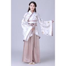 Wanita Ruqun Hanfu Setelan Cosplay Lengan Panjang Gaun Cina Wangsa Tang Kostum-Internasional