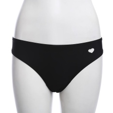 Jual Wanita S*xy Hollow Out Heart Shape Thong Renang B*k*n* Pants Hitam Intl Not Specified Grosir