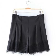 Dimana Beli Wanita S*Xy Lace Jahitan Pleated Shorts Zy2 Hitam Intl Unbranded