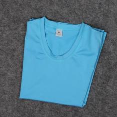 Wanita Lengan Pendek Yoga Kemeja Olahraga Higroskopis Quick Drying Fitness T Shirts Menjalankan Latihan Top Tee-Internasional