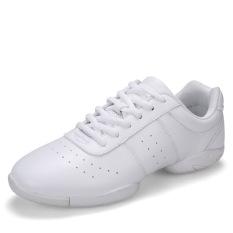 Wanita Sport Fitness Cross Sepatu Pelatihan Warna Putih Ukuran 33-43-Intl