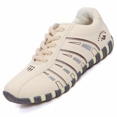 Wanita Olahraga Orang Banyak BadmintonShoes (Krem)-Intl