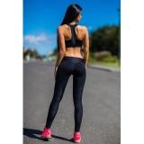 Jual Beli Wanita Olahraga Gym Latihan Yoga Mid Pinggang Pinggang Pinggang Fitness Elastis Legging Intl Baru Tiongkok