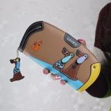 Review Women Stitching Puppy Dog Zipper Koin Dompet Panjang Dompet Kartu Pemegang Tas Tangan Co Intl Oem Di Tiongkok