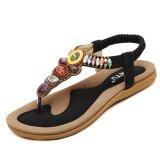 Spesifikasi Wanita Musim Panas Flat Sandal Ladies Bohemia Beach Flip Flops Sepatu Wanita Sepatu Sandles Zapatos Mujer Sandalias Lengkap