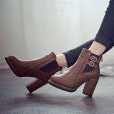 Spek Wanita Heel Tinggi Double Tekuk Elastis Tebal Keadaannya Kode Pos Martins Sepatu Bot Sepatu Fashion Wanita Hong Kong Sar Tiongkok