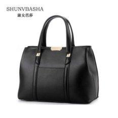 Wanita Top-handle Bag Elegan Shoulder Bags PU Tas Kulit Wanita Tas Kurir Bolsas Feminina Jakarta's Info Fashion-Intl