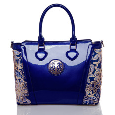 Diskon Produk Wanita Top Handle Bag Shoulder Bags Pu Leather Handbags Solid Tote Bolsas Feminina Borse Jakarta S Info Fashion Wanita Tas Biru 1 Intl