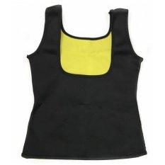 Ulasan Lengkap Tentang Wanita Pelatih Yoga Sport Rompi Keringat Neoprene Body Shaper Slimming Pinggang Cincher C593 Warna Hitam Intl