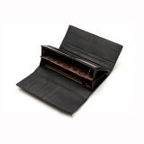 Beli Women Wallet Brand Design Genuine Leather Black Color Intl Mbulon
