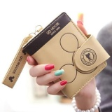 Spesifikasi Dompet Wanita Designer Dompet Wanita Cute Card Holder Merek Travel Wallet Beige Intl Merk Unknown