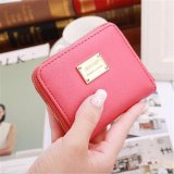 Toko Women Wallet Pu Leather Mini Coin Purses Small Zipper Short Wallets Id Credit Card Holders Fashion Cute Girls Purse Watermelon Red Intl Oem Online
