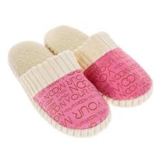 Dapatkan Segera Wanita Hangat Soft Anti Slip Sandal Pink Intl
