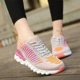 Spesifikasi Wanita Musim Dingin Sejuk Plus Kembang Sepatu Lari Sepatu Outdoor Sepatu Olahraga Abu Abu International Dan Harganya