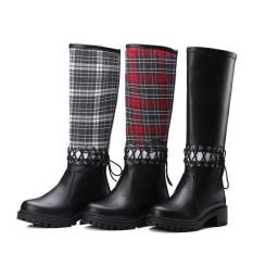 Wanita Musim Dingin Sepatu Berkualitas Tinggi Lutut Tinggi Bot Wanita Sepatu Musim Dingin N Musim Dingin Boot-Internasional