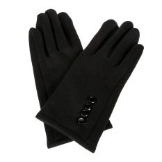 Wanita musim dingin hangat sarung tangan layar sentuh olahraga Ski sarung tangan hitam - International