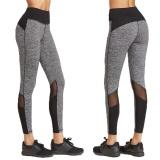 Spesifikasi Wanita Yoga Running Pants Dance Cropped Legging Pinggang Peregangan Pinggang Tinggi S Intl Online
