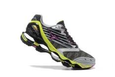 Wanita's Sport 2017 Gaya Baru Sepatu untuk Mizuno Menjalankan Gunmetal Gen 5 Sepak Bola Musim Panas Sepatu Soccer Sneakers Ukuran 36 -45 (Slivery/Merah/Hijau) -Intl