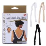 Miliki Segera Women S Adjustable Low Back Converter Bra Strap Extender Crisscross Underwear Intl