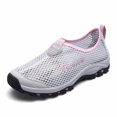 Harga Womens Dan Mens Air Sepatu Bernapas Mesh Hiking Outdoor Sepatu Intl Baru Murah