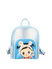 Penawaran Istimewa Women S Backpack Transparent Cartoon Character All Match Sch**l Bag Intl Terbaru
