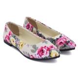 Review Tentang Wanita Flat Balet Loafers Ujung Runcing Sepatu Kasual Bunga Pernikahan Sepatu Yang Nyaman