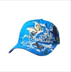 Wanita Baseball Cap PE Cap Hat Olahraga Butterfly Bordir Cap-Biru-Intl