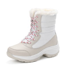 Spesifikasi Womens Boots High Top Fashion Ladies Warm Winter Shoes Intl Lengkap