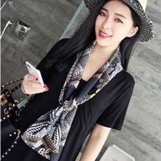Wanita Fashion Syal Baru Bisnis Profesional Scarf Terjemahan Leopard
