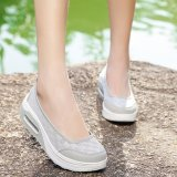 Beli Wanita Fashion Sepatu Sepatu Lace Casual Sepatu Manis Walking Shoes Intl Baru
