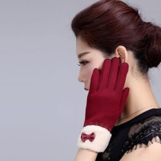 Ulasan Lengkap Tentang Womens Fashion Winter Outdoor Sport Warm Gloves Rd Intl