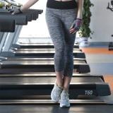 Promo Women S Fashion Yoga Celana Cropped Celana Legging Celana For Menjalankan Gym Yoga Olahraga Abu Abu