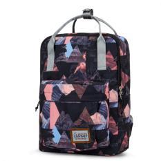 Wanita Fashion Korea NEWCOAST90015 lepas semua kebutuhan bisnis ransel sekolah keren tas Laptop ransel perjalanan - ต่าง ประเทศ