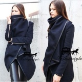 Daftar Harga Womens Lady Slim Winter Warm Trench Coat Long Wol Jaket Tahan Dr Parka Mantel Intl Oem