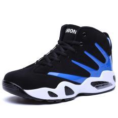 Wanita Pria Basket Sepatu Fashion Olahraga Beberapa Air Cushioned Sneakers-Intl