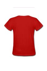 Wanita Jutaan Di Kesejahteraan Menyesuaikan T-Shirt untuk Red