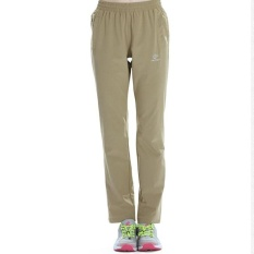 Women's Outdoor Breathable Hiking Mountain Quick Dry Pants Elastic Soft Trousers Spring Summer - Khaki -