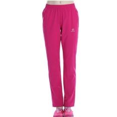 Wanita's Outdoor Breathable Cepat Kering Hiking Gunung Celana Elastis Soft Semi Musim Panas-ROSE-Intl