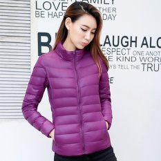 Jual Beli Women S Packable Ultra Light Windproof Packable Down Jacket Puffer Mantel Lebih Tahan Dr Intl Di Tiongkok