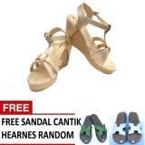 Ulasan Lengkap Tentang Women S Princess Party Shoes Gold Metalic Free Sandal Cantik Random