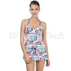 Women's Quick Drying Siam Swimwear A16 (Putih)-Intl