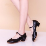 Tips Beli Wanita Salsa Waltz Ballroom Latin Tango Soft Sole Sepatu Dansa Bertumit Sandal Hitam Yang Bagus